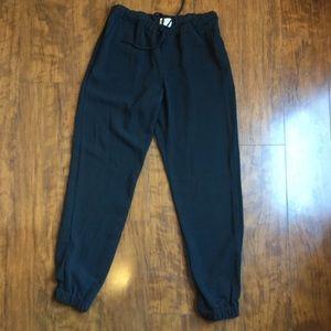 Merona- Stylish Black Track Pants. Size XS